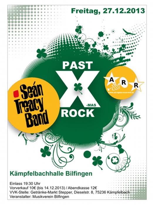 Past X-Mas Rock 2013 mit Séan Treacy BAnd und All rights reserve(d) am 27.12.2013