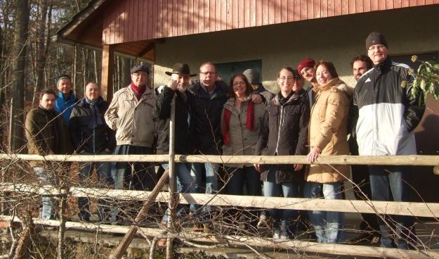 Neujahrwanderung des Musikvereins Bilfingen 2014