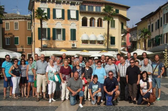Vereinsausflug 2014 nach Südtirol Gruppenbild