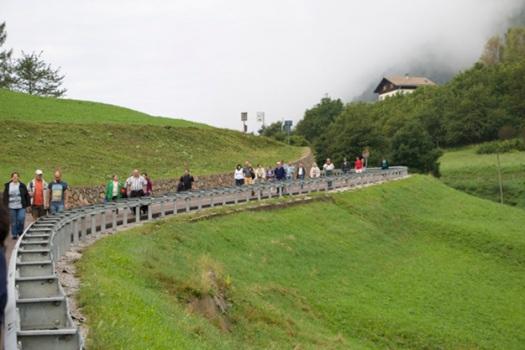 MVB Südtirol Abstieg nach Kaltenbrunn