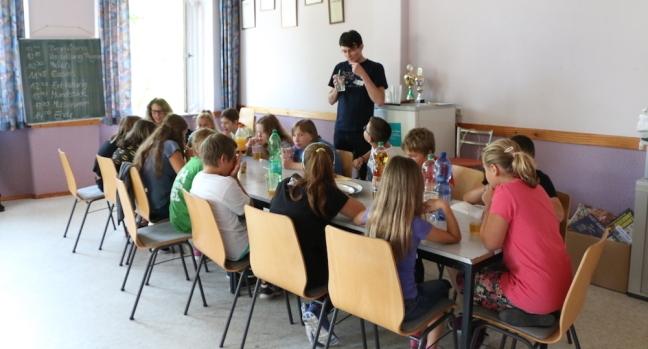Kinderferienprogramm Musikverein Pause