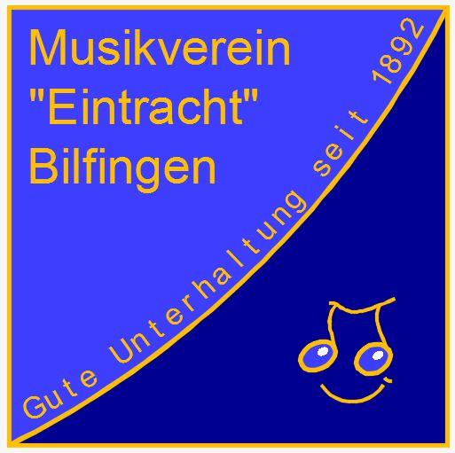 """Musikverein """"Eintracht"""" Bilfingen e.V. Gute Unterhaltung seit 1892"""