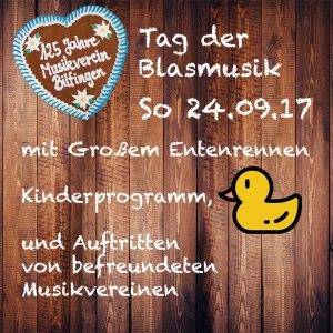 MV Bilfingen Tag der Blasmusik Festzelt 24.09.2017
