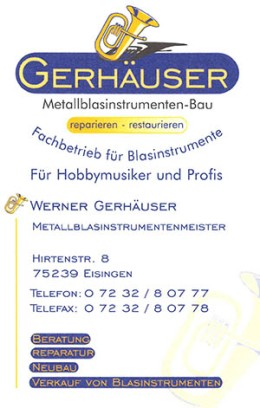 Gerhäuser-Visitenkarte