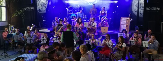 MVB Auftritt Oktoberfest Tiefenbronn 2018