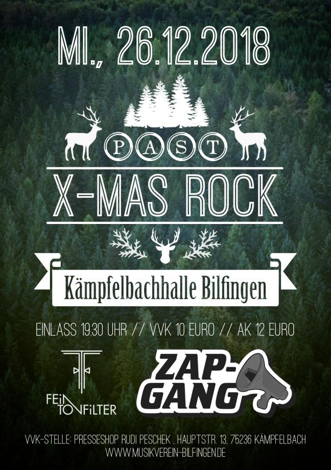 Past X-Mas Rock 2018 Bilfingen