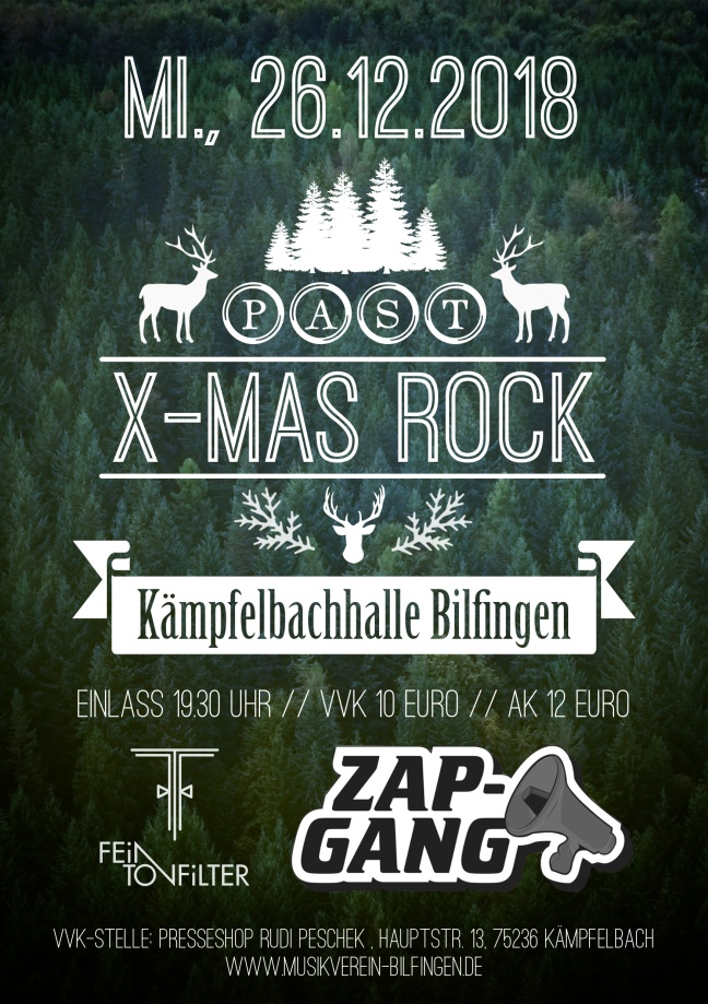 Past X-Mas Rock 2018 Bilfingen